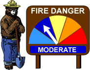 Chandler Burning Index: MODERATE